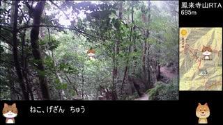 【リアル登山アタック】鳳来寺山RTA 0:40:00