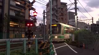 都電荒川線早稲田11号踏切 その9