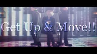 【MMDおそ松さん】Get Up & Move!!【寒色
