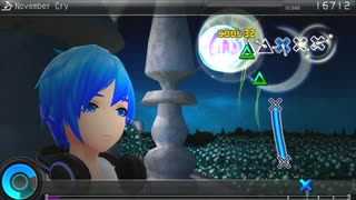 【Project DIVA F2nd】 November Cry 【譜面】
