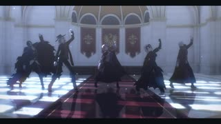 【MMD】ラストダンス【APヘタリア×Fate】