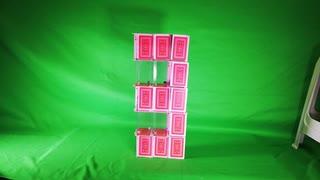 いざという時のためにトランプタワーで数字を作ってみた