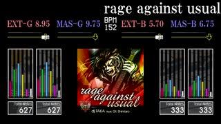 【GITADORA】rage against usual【OverDri