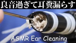 【ASMR】耳垢どんだけ詰まってるの?と言いたくなる奥行き耳かき【音フェチ】