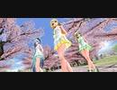 【MMD】Tda式改変リンちゃんとGUMI、ミクで『Nekkoya(PICK ME)』