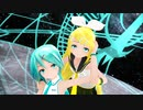 【MMD】あぴミクさんとリンちゃんで『ロミオとシンデレラ』【カメラ配布あり】
