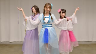 【 第2弾 】 桃源恋歌 踊ってみた 【うみねこ×よーこぴ×めろりん】