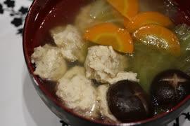 【料理】noヘルシーnoセクシー鶏団子の野菜スープ