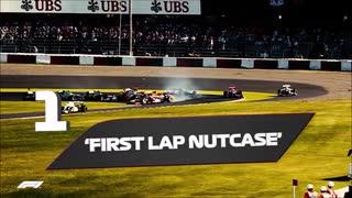 F1MAD グロージャンとマルドナードのクラッシュシーンでガンバライドのEXステージBGMにしてみた