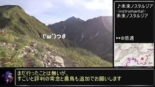 【RTA リアル登山アタック】大日三山 3:41:15