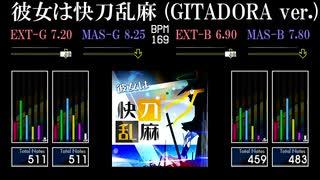 【GITADORA】彼女は快刀乱麻 (GITADORA ve