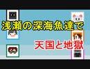 【ゲーム実況者MAD】浅瀬の深海魚達で天国と地獄#2【あさしん音MAD】