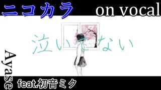【ニコカラ】泣いてない【on vocal】