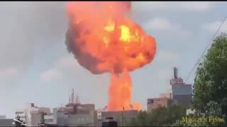 【衝撃映像】爆発事故動画集【注意】