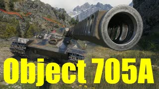 【WoT:Object 705A】ゆっくり実況でおくる戦車戦Part620 byアラモンド