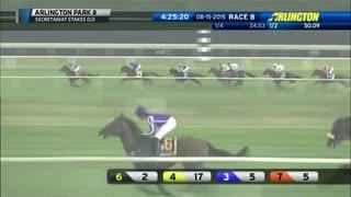 2015年 第39回セクレタリアトステークス(Secretariat Stakes)ハイランドリール(Highland Reel)