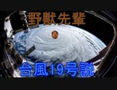 野獣先輩台風19号説
