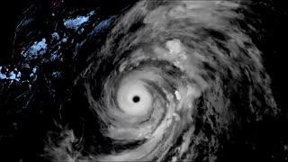 《台風19号》ひまわり衛星から上陸から通過まで