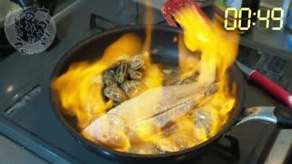 【パッションキッチン】イトヨリダイのアクアパッツァ!ナベさんは朝からテンション上げられるのか検証してみた