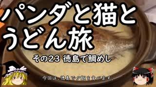 【ゆっくり】パンダと猫とうどん旅 23 徳