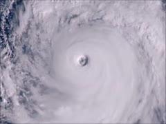 2019年 台風19号 衛星画像