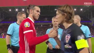 《EURO2020》 【予選:グループE】 [第8節] ウェールズ vs クロアチア(2019年10月13日)