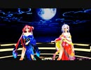 Ray MMD【乱躁滅裂ガール】Tda式改変 重音テト 弱音ハク Japanese Kimono