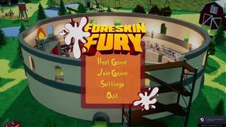 【Foreskin Fury】ゆかりさん達が肉の棒で遊ぶ【ゆかきずささら実況プレイ】