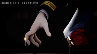 【金カム人力・MMD】magician's operation【尾形百之助】