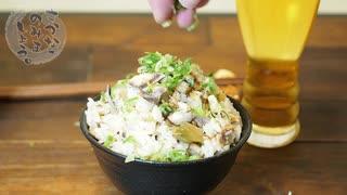 サバ缶で中華風炊き込みご飯!ウェイパーで簡単手間なし絶品レシピ【炊飯器シリーズ】