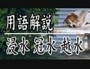 【河川水害用語】いまさら聞けない浸水・冠水・氾濫・洪水・水没・越水・溢水・漏水の違い