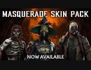 『Mortal Kombat 11』「Masquerade Skin Pack」トレイラー