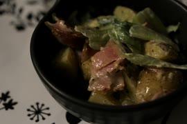 大人の味、夜のポテトサラダ【料理】