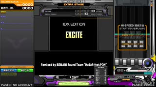 【IIDX27 HEROIC VERSE】EXCITE (☆7 SP HYPER)