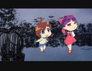 犬山まなちゃんがお友達になりたそうに見ている動画(の途中)