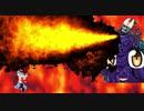 「マンガでわかる!けもフレ3」( @kemofure3_manga )氏の炎上商法に協力すべく準備運動の灼熱のファイヤーダンスを踊るワイトキングとキュルルシファー