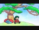 In the pine bush / Hatsune Miku