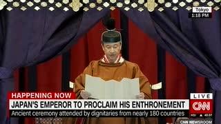 徳仁陛下が126代天皇即位を参集の200カ国