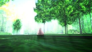 【MMD杯ZERO2参加動画】羊の少女は森を往