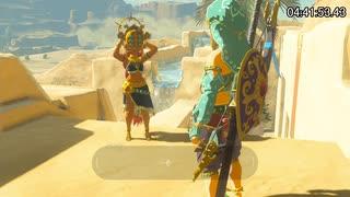 【RTA】ゼルダの伝説BotW All Shrines(全祠)  7:51:39 Part11【字幕解説】