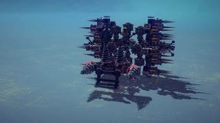 【Besiege】第3回P1グランプリCブロック出場機体紹介『内なる殺意を秘めてるジャン』
