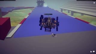 【Besiege】 第3回P1グランプリ参加機体  走らせてみた