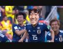 ワールドカップでコロンビアをたたき割った男