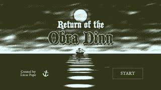 Return of the Obra Dinn【実況】❝思考駄々洩れ調査官❞ 第一話