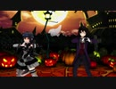 【MMD艦これ】ハロウィンな初霜と時雨でHappy_Halloween