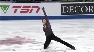 【TSN実況】羽生結弦2019スケートカナダ FP