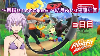 【Ring Fit Adventure】~目指せ1000kcal