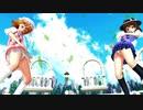 【※おパ〇ツ注意!!】宇佐見蓮子 メリー 制服 ロキ 1080p【カメラ配布】
