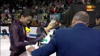 【スペイン実況】羽生結弦 2019 スケートカナダ FP