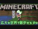 【実況プレイ】広大な世界で散歩する【Minecraft】【第四回】#9